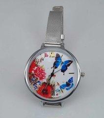 Horloge met edelstaal