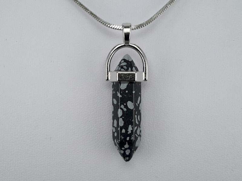 Hanger, Obsidiaan Obelisk pendulum, edelsteen