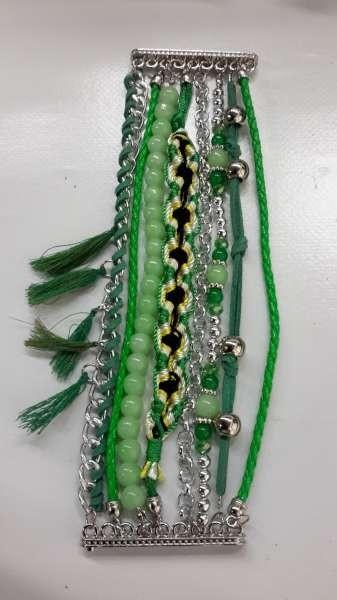 Ibiza armband, Verde