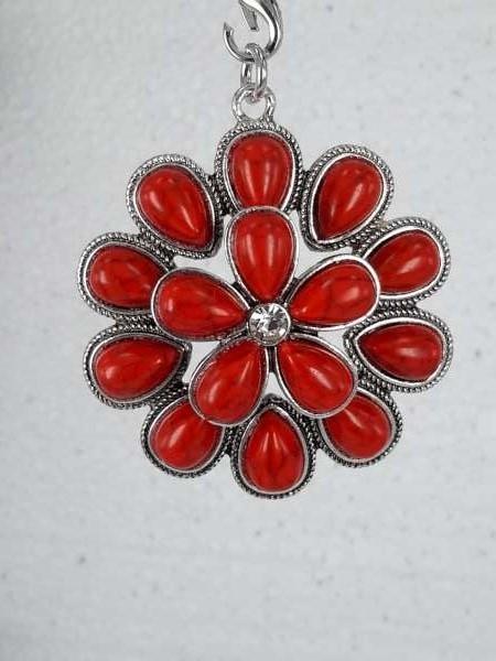 dubbele bloem, rode Jaspis