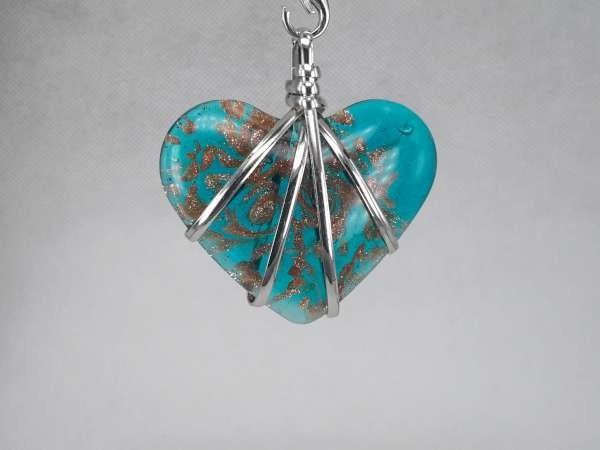 Hanger: hartvormige murano