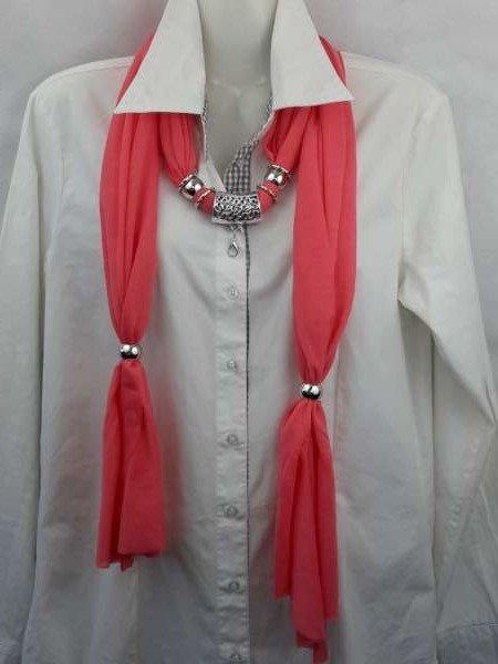 Sjaal met koppelstuk