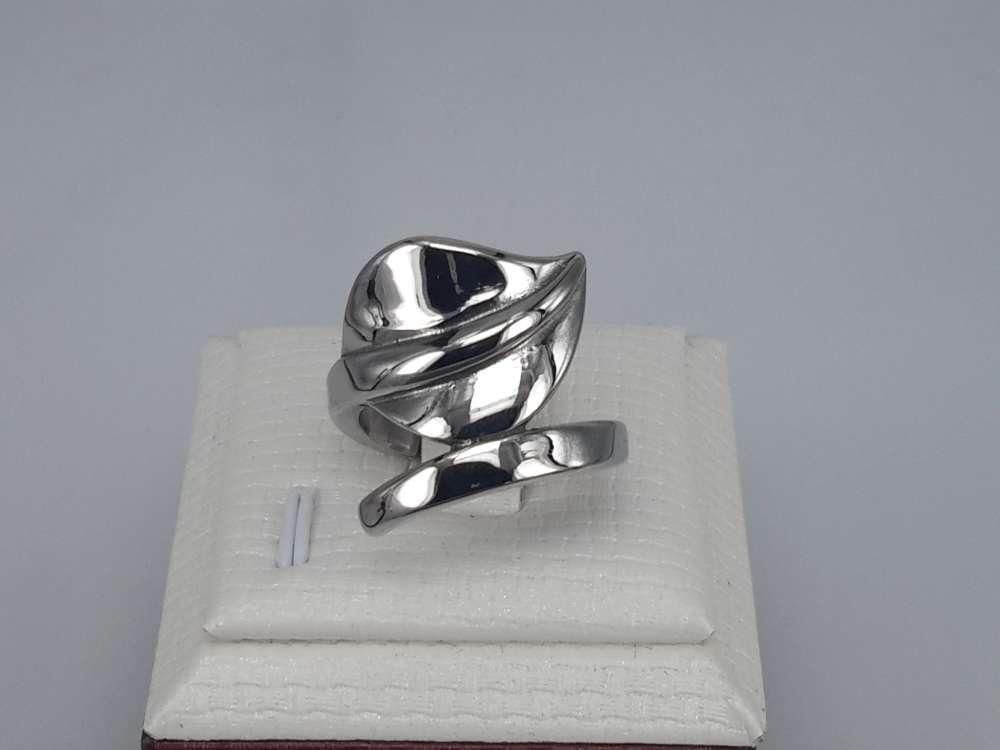 Edelstaal Ringen, blad aan steel, doos 36 st