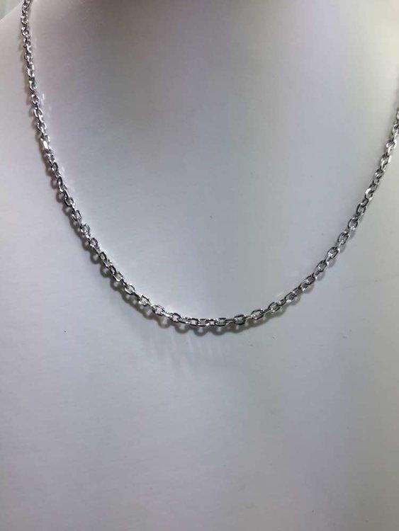Edelstaal Anker ketting, L 45 cm