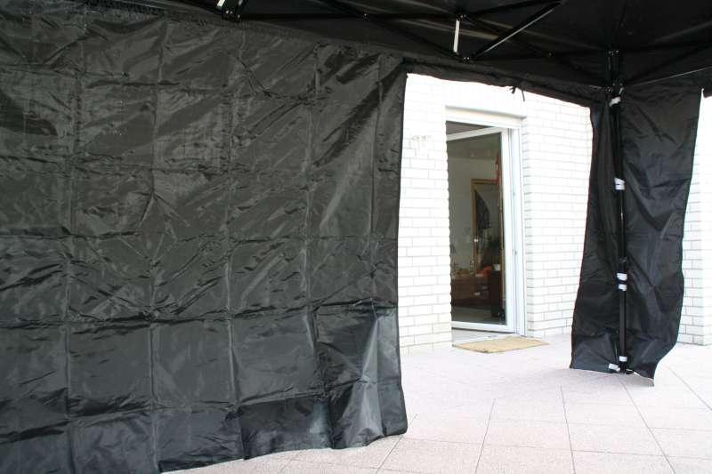 Zijwand 4,5 mtr met deur