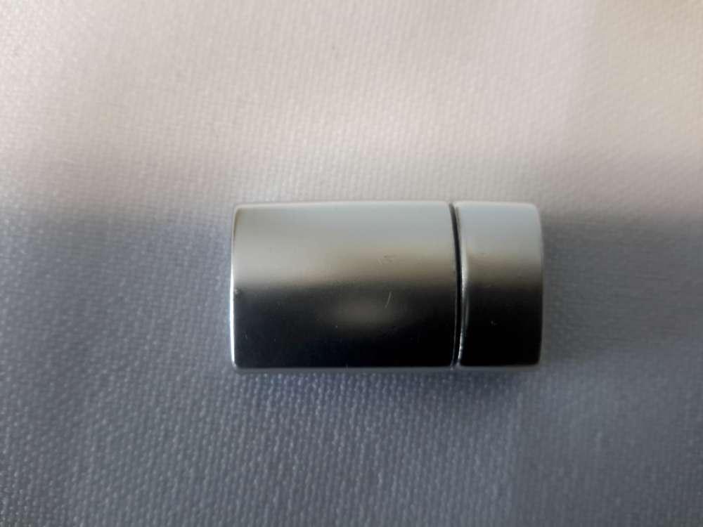 2-delig magneet mat zilverkleur