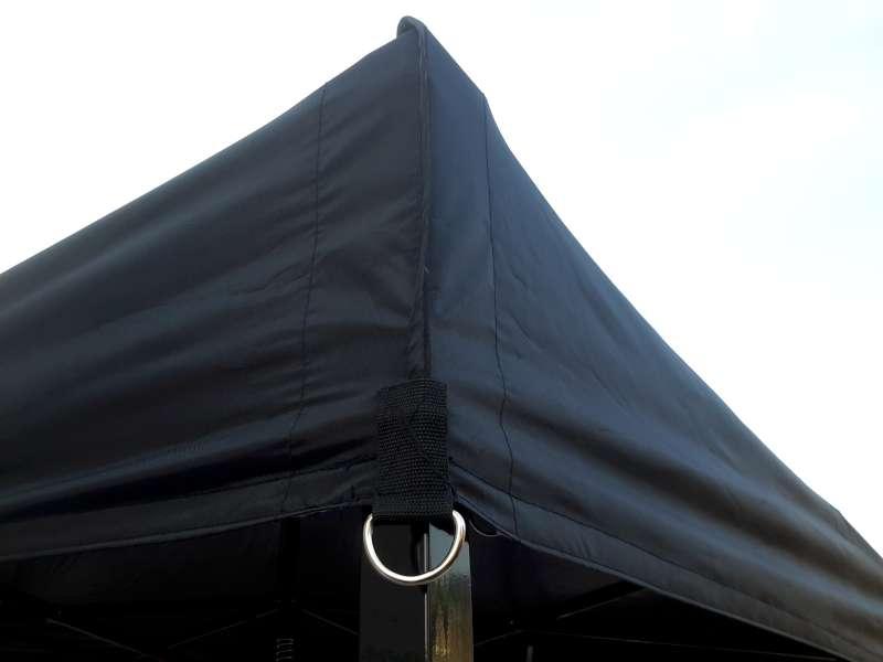 dakzeildoek Easy-up tent 3 x 6 mtr, zwart