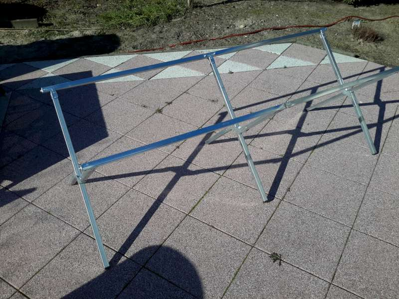 Klaptafel-frame 80kg, Markt, Tent, Braderie