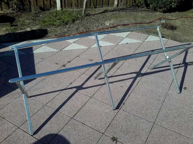Klaptafel-frame 100kg, Markt, Tent, Braderie