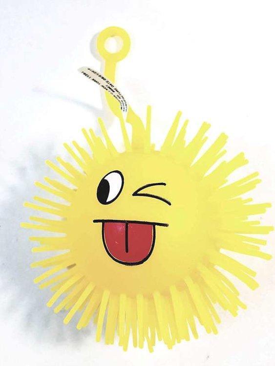 Emoji met led, geel