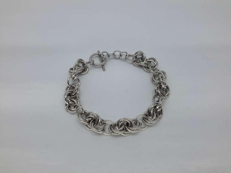 Armband, ringetjes, edelstaal