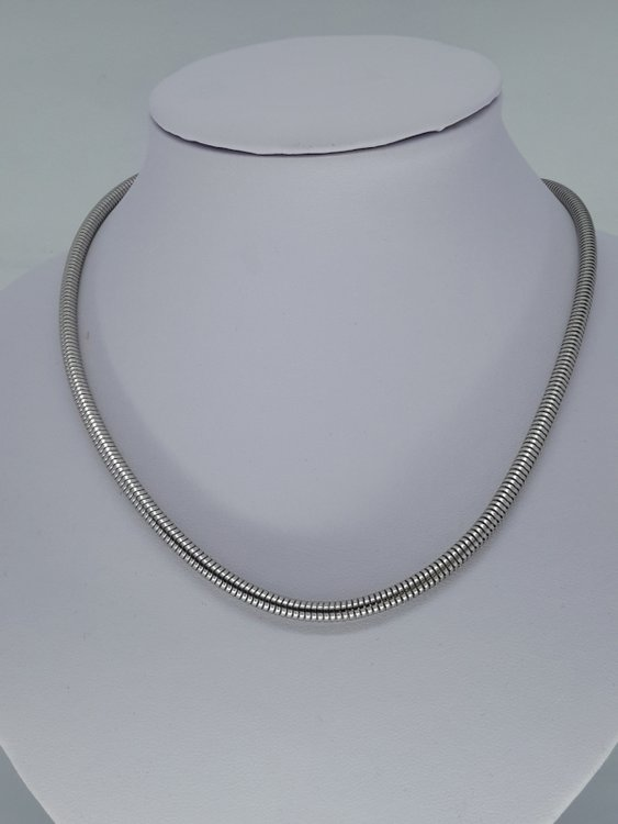 rupsketting 4,2, edelstaal, 45