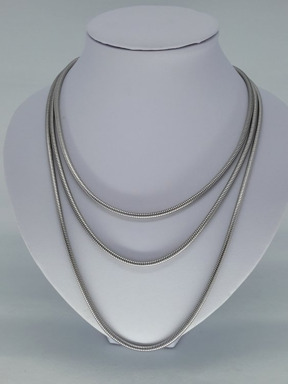 rupsketting 3,2, edelstaal, 45