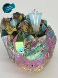 Druppel Pendel met Opaal edelsteen_