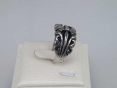 Edelstaal Ringen, gothic, per 2