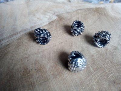 Bedel, knot ringen, 9 stuks