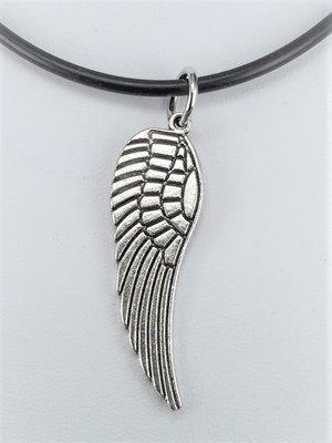 Hanger, Angel Wing, zilverkleur.