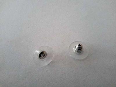 Achterkant oorbellen, per 12 paar/