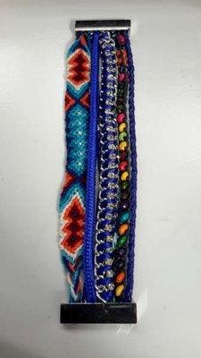 Ibiza armband, Azul