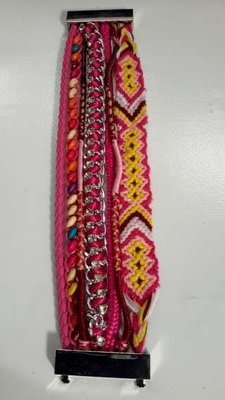 Ibiza armband, Rosado