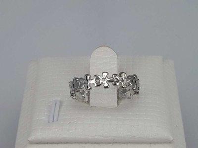 Edelstaal Ringen, bloemenband, doos 36 st