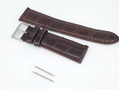 Horlogeband motief, bruin PU leder, gesp, zwart of bruin