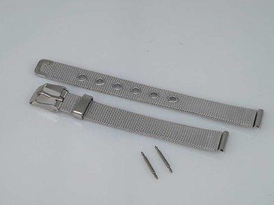 Horlogeband edelstaal, gesp