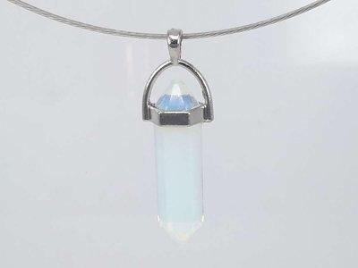 Opaaliet pegel hanger kwarts edelsteen,