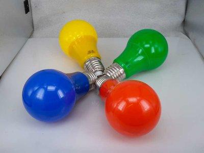 Gekleurde Ledlamp 5 W, E27 G60