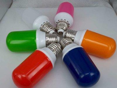 Gekleurde Tube Ledlampen 1,7W, E27 T45
