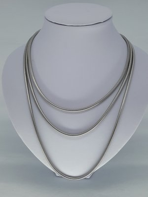 rupsketting 3,2, edelstaal, 60