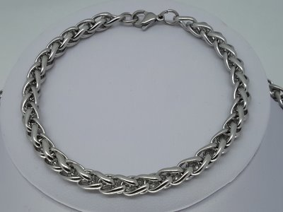 Armband 6, ringen, edelstaal