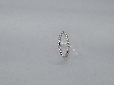 Ringen, draad om ring, edelstaal