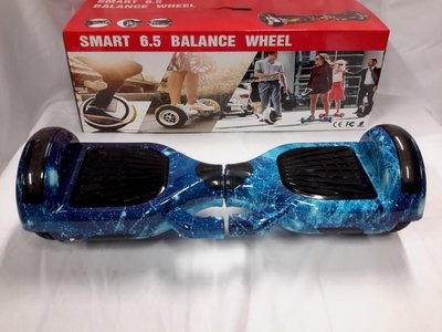 Hoverboard 6,5 Inch, blauwe Ruimte - blue Space