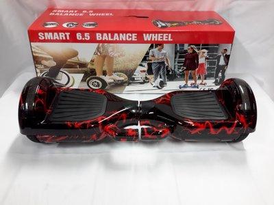 Hoverboard 6,5 Inch, rode Bliksem - red Lightning