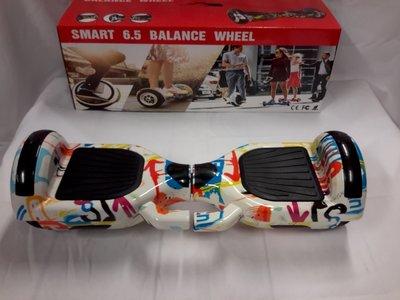Hoverboard 6,5 Inch, Penseel strepen - pencil Stripes