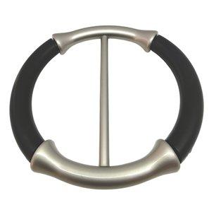 Sjaal ring, handige ring om een sjaal/omslagdoek vast te zetten zonder gaatjes maken.